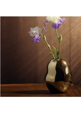 Kähler - Vase - Fiora Gold Vase - Guld