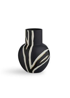 Kähler - Vase - Fiora Vase - Navy Night
