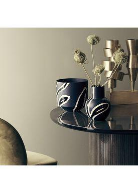 Kähler - Vase - Fiora Vase - Midnatsblå