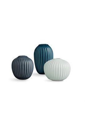 Kähler - Vase - Hammershøi Miniature vaser - 3 pak - Grøn