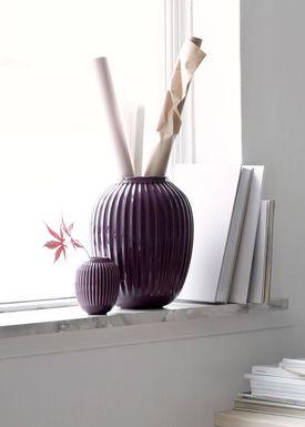 Kähler - Vase - Hammershøi Vase - Blomme - Lille