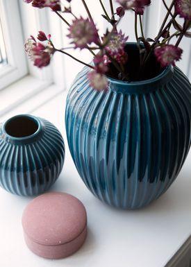 Kähler - Vase - Hammershøi Vase - Petroleum - XLarge