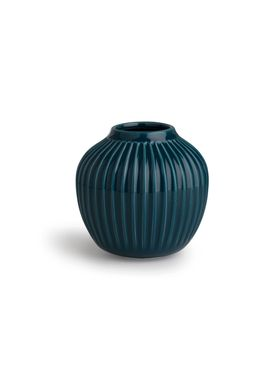 Kähler - Vase - Hammershøi Vase - Petroleum - Mellem