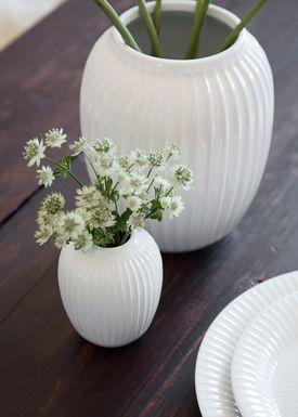 Kähler - Vase - Hammershøi Vase - Hvid - Stor