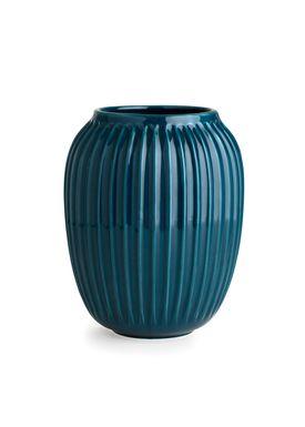Kähler - Vase - Hammershøi Vase - Petroleum - Stor