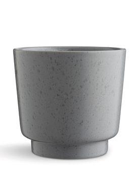 Kähler - Vase - Ombria Urtepotte - Skiffergrå