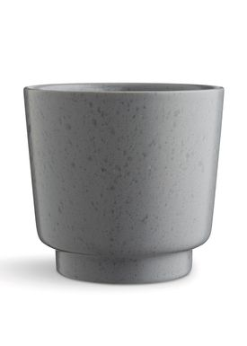 Kähler - Vase - Ombria Flowerpot - Slate Grey