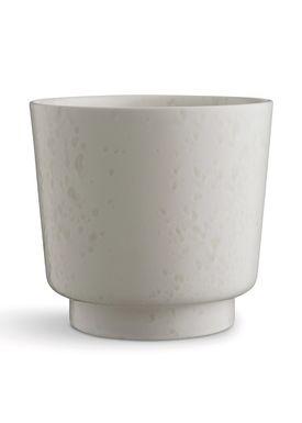 Kähler - Vase - Ombria Flowerpot - Marble White