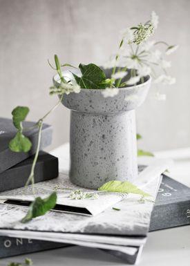 Kähler - Vase - Ombria Vase - Skiffergrå
