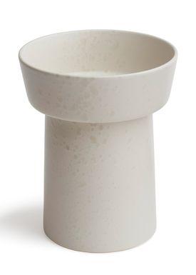 Kähler - Vase - Ombria Vase - Marmorhvid