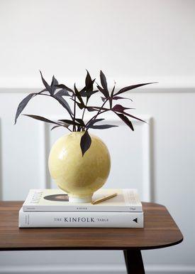 Kähler - Vase - Unico Vase - Okkergul