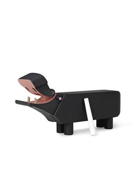 Kay Bojesen - Figure - Hippo - Hippo Black