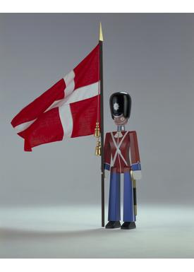 Kay Bojesen - Figur - Kay Bojesen Soldater - Fanebærer Stor