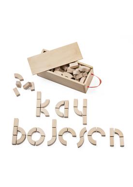 Kay Bojesen - Krea - Alfabetklodser - Alfabetklodser