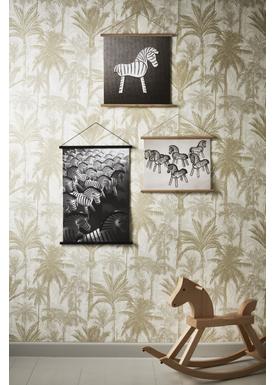 Kay Bojesen - Maleri - Zebra Print - Lille