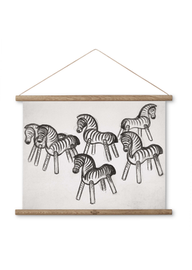 Kay Bojesen - Painting - Zebra Print - Small