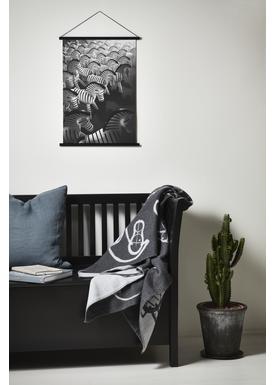 Kay Bojesen - Painting - Zebra Print - Large