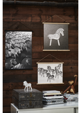 Kay Bojesen - Painting - Zebra Print - Medium