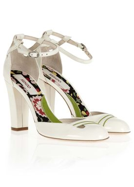 273964 Stilettos Off White