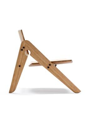 WeDoWood - Stol - Komplett Lounge Chair - Bambus