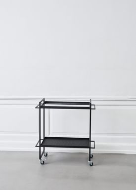 Kristina Dam - Bord - Bauhaus Trolley - Sort