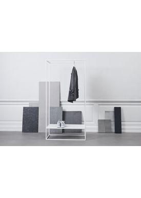 Kristina Dam - Reol - Grid Goat Stand - Hvid (Udstillingsmodel)
