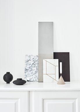 Kristina Dam - Skål - Wooden Sphere - Sort