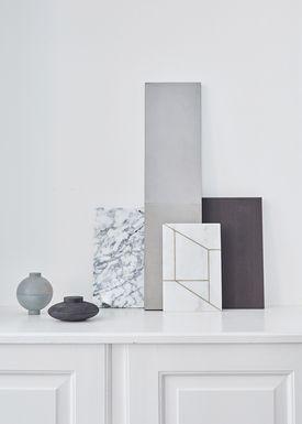 Kristina Dam - Skulptur - Wooden Galaxy  - Grå