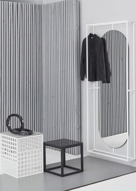 Kristina Dam - Spejl - Outline Mirror - Hvid