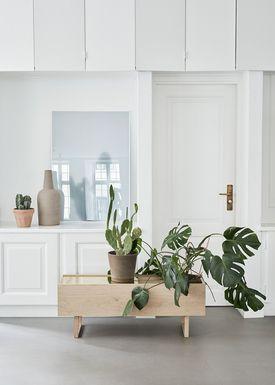 Kristina Dam - Vase - Dome Vases - Grå - Large