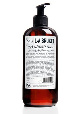 L:A Bruket - Body Wash - No. 69 Liquid Soap Lemongrass - Neutral