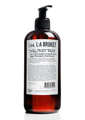 L:A Bruket - Body Wash - No. 94 Liquid Soap Sage/Rosemary/Lavender - Neutral