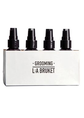 L:A Bruket -  - Men's Grooming Kit - 4 X 60 ml - Neutral