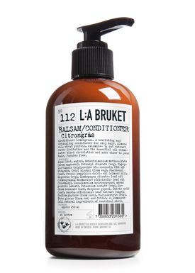 L:A Bruket -  - No. 112 Conditioner Lemongrass - Neutral