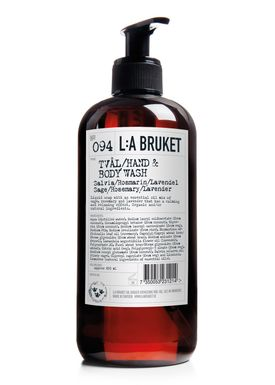 L:A Bruket - Soap - Liquid soap - No. 094 / Sage / Rosemary / Lavender / 450 ml