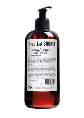 L:A Bruket - Soap - Liquid soap - No. 184 / Geranium / 450 ml