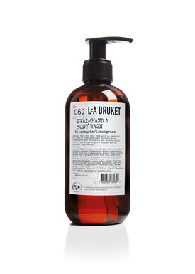L:A Bruket - Soap - Liquid soap - No. 069 / Lemongrass / 250 ml