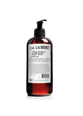 L:A Bruket - Sæbe - No. 184 Liquid Soap Geranium - Neutral