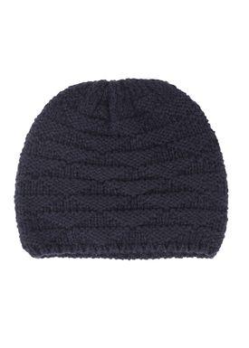 Le Mont Saint Michel - Hat - Triangle Knit Hat - Navy