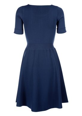 Le Mont Saint Michel - Kjole - Milano Dress - Indigo Blå