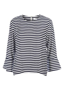 Libertine Libertine - Bluse - Known Zip - Navy/White Stripes