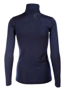 Libertine Libertine - Bluse - Tail Wool Rollerneck - Navy