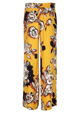 Libertine Libertine - Bukser - Blonde Pants - Flower Yellow