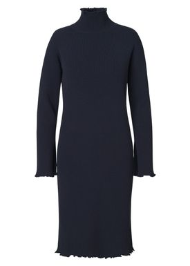 Libertine Libertine - Kjole - Solo Merino Knit Dress - Dark Navy