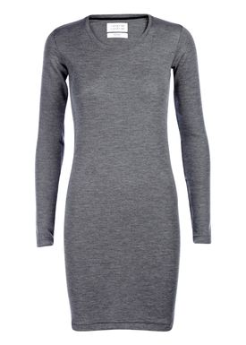 Libertine Libertine - Kjole - Trial Wool Dress - Grå Melange