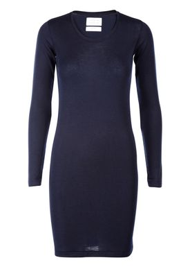 Libertine Libertine - Dress - Trial Wool Dress - Navy