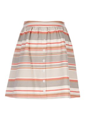 Libertine Libertine - Skirt - Late Skirt - Grey/Multi Stripe