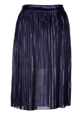 Libertine Libertine - Nederdel - Shut Skirt - Metal Navy