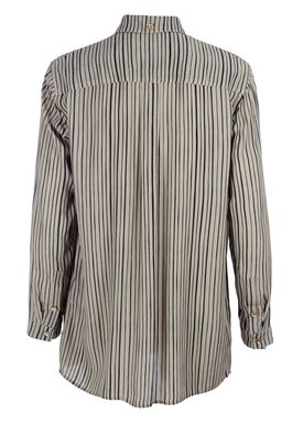 Libertine Libertine - Shirt - Scent - Dusty Green/Navy Stripe