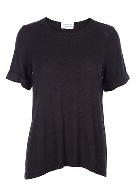 Libertine Libertine - T-shirt - Aight - Dark Grey Melange
